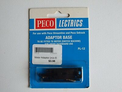 Peco Lectrics HO/OO PL-12, Adaptor base for point motor