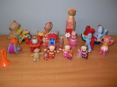 In the Night Garden Figures Toys Lot of 15