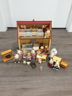 Slyvanian Family House And Figures