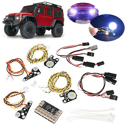 LED Front + Rear lights + IC Lamp Group +Extension Lines For TRAXXAS Trx4 RC CAR