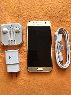 NEW Samsung Galaxy S7 32GB for Verizon Gold - SM - G930V - Open Box!