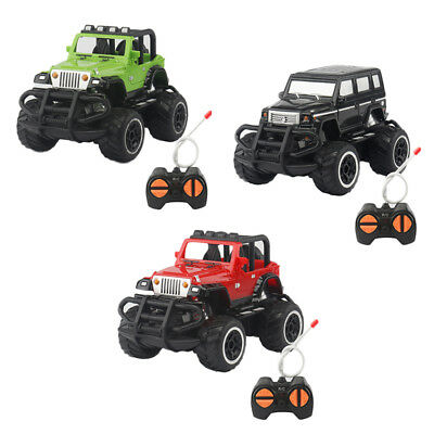 Remote Control Mini Car Model Toys Radio Jeep Educational Toy vehicle Model Gift