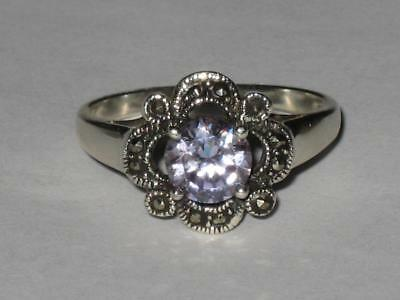 CZ Ring 925 10 White Witch Estate GOOD FORTUNE LUCK LOVE POSITIVE LIFE CHANGE