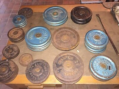 Used Gym Weights - Dumbbell Weight Plates