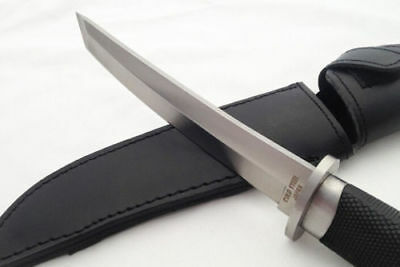 New Cold Steel Large SAN MAi Samurai Survival Fixed Knives 440A Blade Hunting