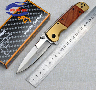 New Browning DA69 Folding Knife Outdoor Survival Blade Camping Tools