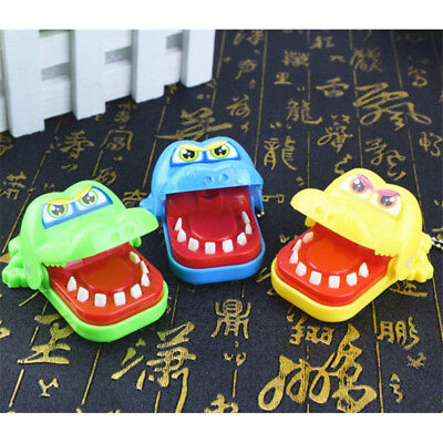 Cute Small Crocodile Mouth Dentist Bite Finger Game Funny Toy Kids Children Gift
