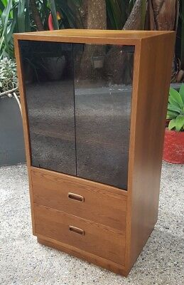 Vintage Record Player Hifi Cabinet Lovely Timber Veneer Narre Warren