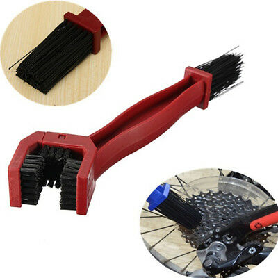 UK Durable Cycling Bicycle Motorcycle Chain Cleaning Tool Gear Brush Cleaner NEW