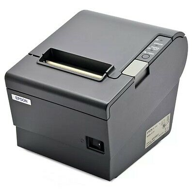 Epson TM-T88IV USB Receipt Printer Black - Lightly Used