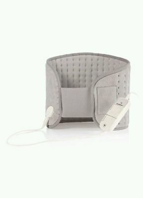 BACK & STOMACH HEAT PAD PAIN RELIEF FREE EU+USA ADAPTER 6 Settings 3yr Warranty