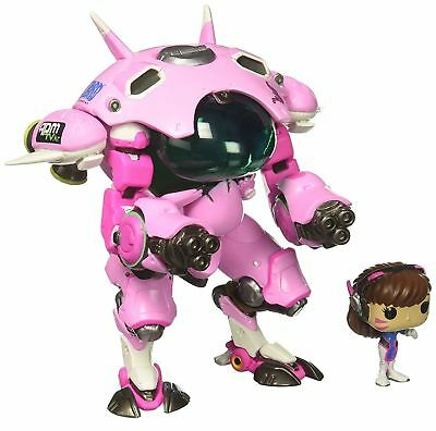 "Pop Overwatch D.VA & Meka 6"" POP and Buddy Vinyl Toy Figure Dva"