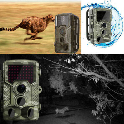 H881 Hunting Scouting Camera HD 1080p Animals Trail Surveillance Camcorder 16MP