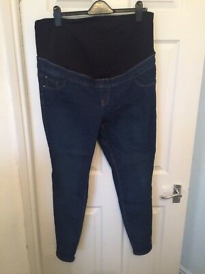 New Look Over The Bump Jeggings Size 16