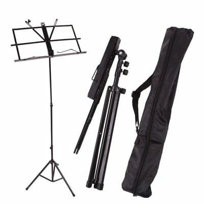 Heavy Duty Metal Music Sheet Stand Holder Tripod Base Foldable AU STOCK