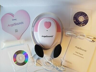 Angelsounds Fetal Doppler Heart Beat Monitor (2 Cd Starter Gel Pack)