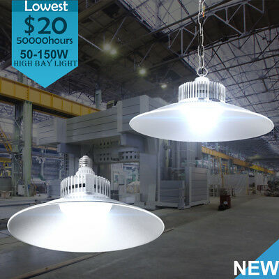 50W-150W LED High Bay Light Industrial Factory Warehouse Commercial Gym lighting