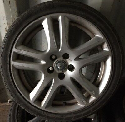 "Jaguar Aruba 18"" Alloy wheel And Tyre. one wheel ideal spare"