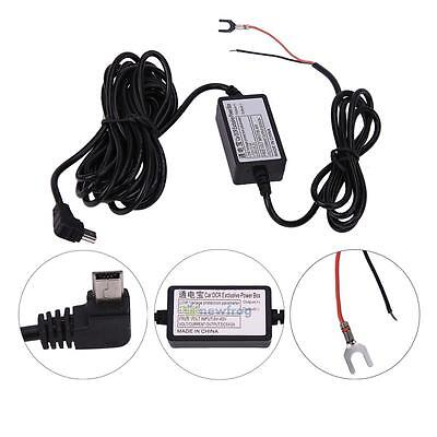 3M 4M USB Hardwire DC Car Charger Cable Kit For Dash Cam Camcorder Vehicle DVR