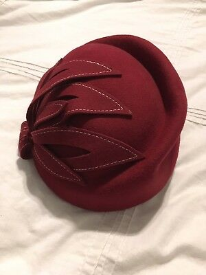 Gorgeous Vintage Red Hat