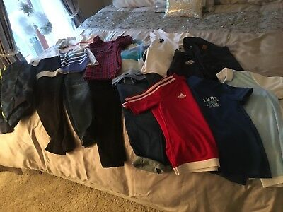 boys age 8-9 clothing bundle. Next, timberland, river island, Tommy hillfiger