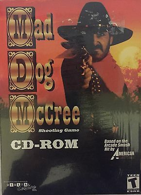 Mad Dog McCree Big Box PC Game New Sealed