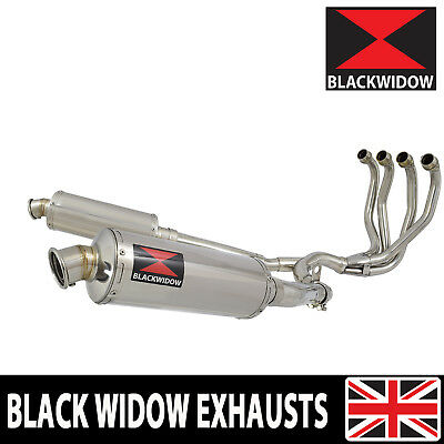 Zzr 1100 Zx-11 Zx11 4-2 Exhaust System Round Stainless Silencers Mufflers Sn30R