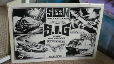 The S.I.G Gerry Anderson Blueprints