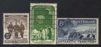 Australian Antarctic Territory 1959 Defins 3 Used Values