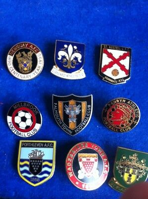 Old Badge Collection Cornish Newquay AFC Falmouth Town St Austell Football Club