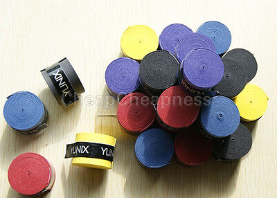 5x Absorb stretchy Tennis Squash Racquet Bands Grips Anti-slip Tape Overgrips SE