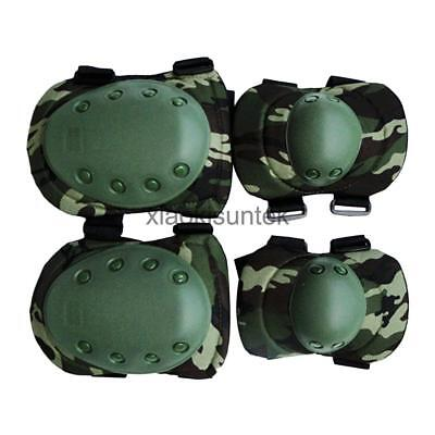 Adult Knee & Elbow Pads Set Outdoor Riding Mountaineering Hunting Equipment