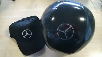 GENUINE MERCEDES BASEBALL CAP WITH BEACH BALL AND KEYRING great gifts