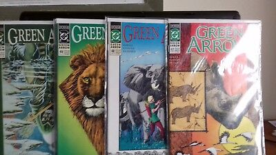 GREEN ARROW #47-50 (DC) (1988 SERIES) DOUBLE-SIZED ISSUE 50 (VFn)