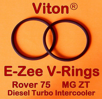 Rover 75 MG ZT 2 litre Diesel Intercooler Seals O Rings in VITON *THE BEST*