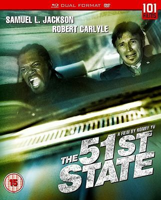 The 51st State (Samuel L. Jackson) New DVD + Blu-ray