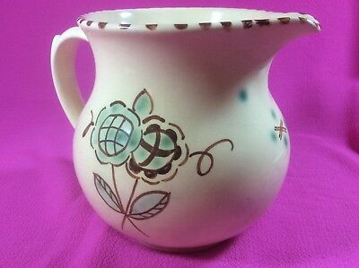 HONITON Devon Pottery hand painted Jug - Beautiful Condition