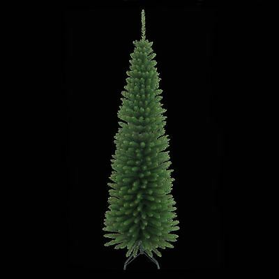6FT/180CM Green Artificial Pencil Christmas Tree Tall Thin ...