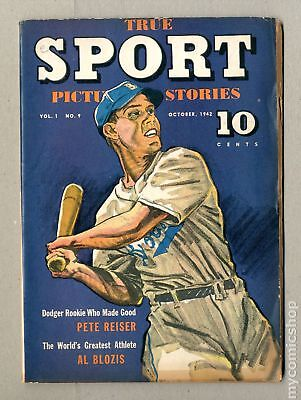 True Sport Picture Stories Vol. 1 (1942) #9 GD 2.0