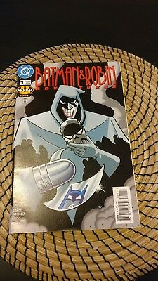 Batman And Robin Adventures Annual #1  (Mask of the Phantasm sequel) 1996