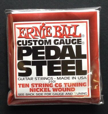 Ernie Ball Pedal Steel Guitar Strings C6 Tuning