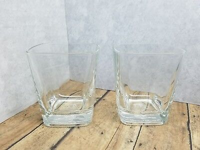 Crown Royal Etched Bottom Whiskey Glass