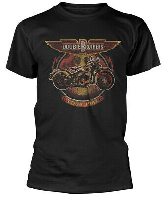 The Doobie Brothers 'Motorcycle Tour '87' T-Shirt - NEW & OFFICIAL!