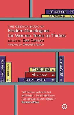 The Oberon Book of Modern Monologues for Women, Volume 3, Dee Cannon
