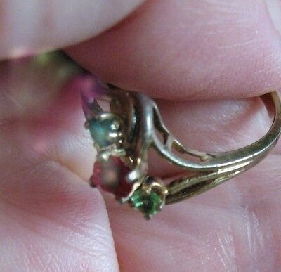 Paranormal Spirit Ring FULFILL YOUR DREAMS Vintage Witch Estate Talisman