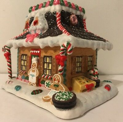 "PARTYLITE, ""Candy Depot"" Gingerbread Village, Piece #3,  (Item P8647) Christmas"
