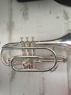 Besson Cornet silver plated