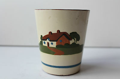 Dartmouth Pottery Motto Ware Cup Drink Up Me Artiez An Av Sum More Nice Vintage