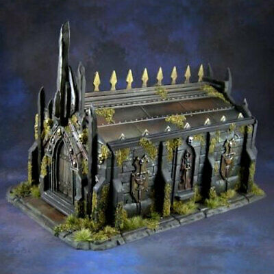 Reaper Bones 77637 Obsidian Crypt Wargaming Scenery Terrain Mausoleum Tomb Grave