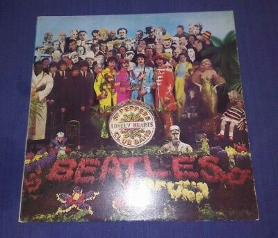 UNUSUAL RELEASE OF THE BEATLES L.P. 1967.  'Sgt. PEPPER'S.'  3C064 - 04177.   EX